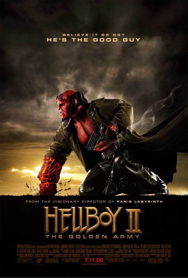 Hellboy 2 : les légions d'or maudites – TV
