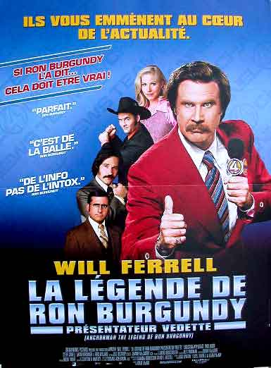 La legende de Ron Burgundy